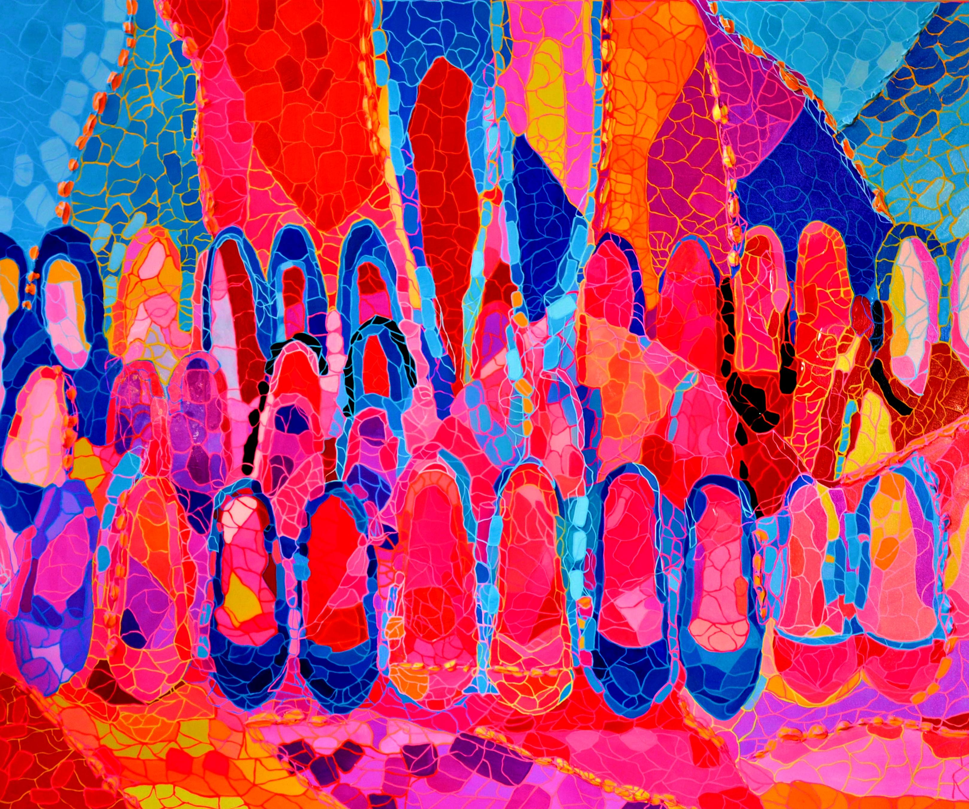 100X120 Acrylic on canvas