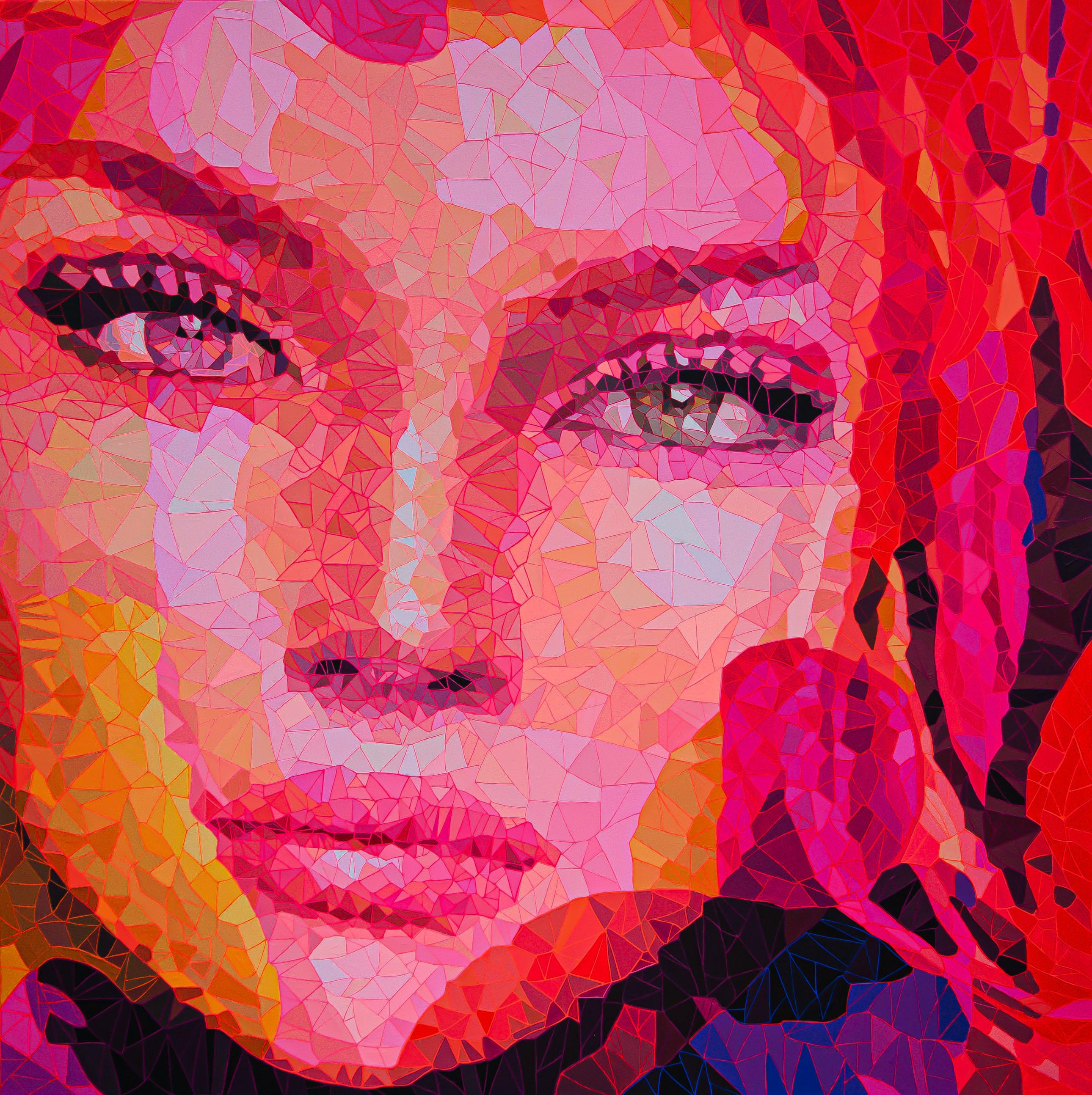 120X120 Acrylic on canvas